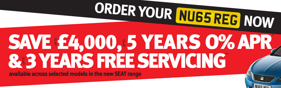 NU65 REG - Save Up To $pound;4,000, Up To 5 Years 0% APR, & Up To 3 Years Free Servicing