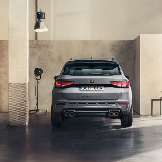 CUPRA Ateca Limited Edition - Rear of the car