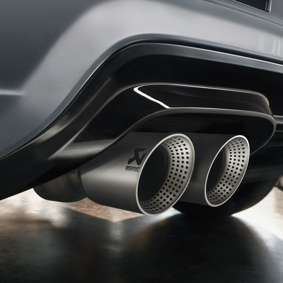 CUPRA Ateca Limited Edition - Exhaust pipes