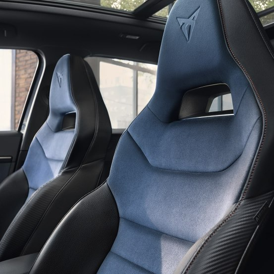 CUPRA Ateca Limited Edition - Sport bucket seats