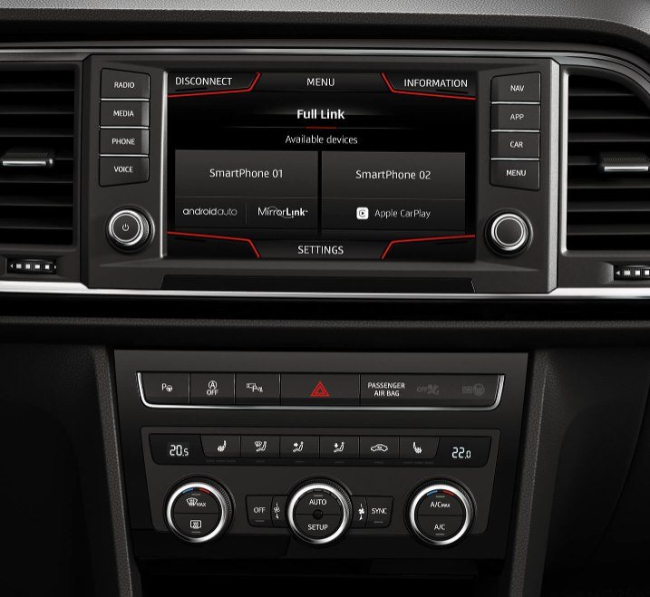 SEAT Ateca - Entertainment system