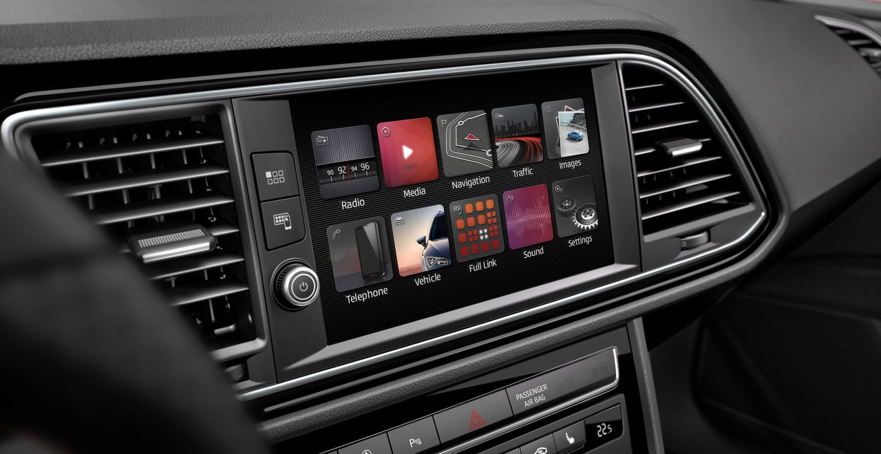 SEAT Leon - Entertainment system